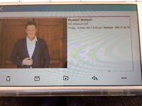 Russell Watson BIC Bournemouth Friday May 12th. 2 tickets. Row G 11 & 12