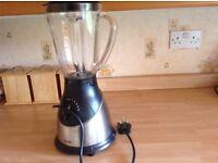 Black glass blender