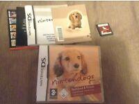 Nintendo DS Nintendogs game in box