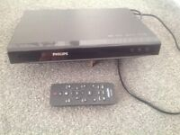 Phillips DVD player and controller - fully working