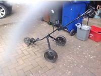Slazenger 3 wheel golf trolley