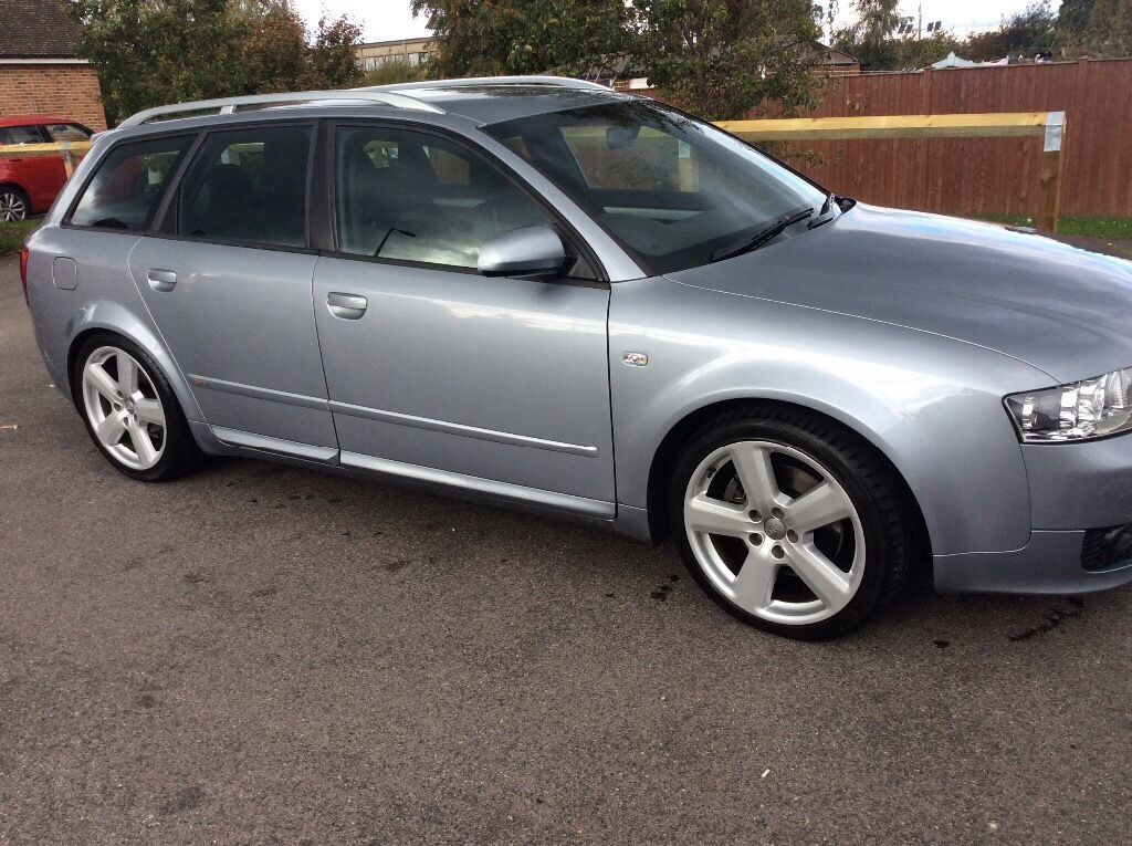 audi a4 b6 avant 1 8t 190 bhp turbo s line estate 6 speed petrol 2004 manual in sutton. Black Bedroom Furniture Sets. Home Design Ideas