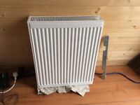Small double radiator