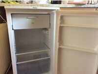 Amica fridge freezer small fridge with ice box compartment, great condition