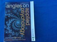 Psychology A2 Edexcel, angles on applied Psychology