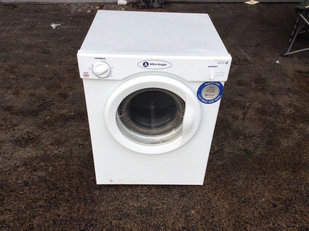 WHITE KNIGHT 38AW VENTED TUMBLE DRYER 3KG