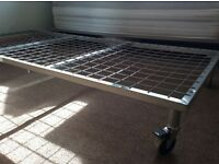 Portable single bed frames