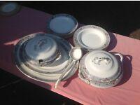 Losolware vintage dinner service