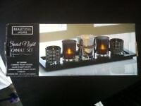 Beautiful Home Secret Night Candle Set Boxed