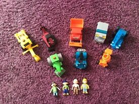 BIG COLLECTION OF BOB THE BUILDER VEHICLES AND FIGURES