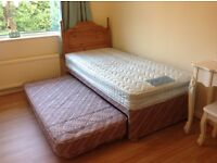 Trundle/guest bed