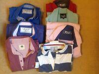 Various Men's Tops by T&G, Crew, Lazy Jacks size XL