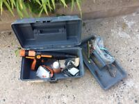 PNEUTEK SA 75 steel nail gun for shooting nails into metal and masonry. Good working order.