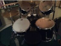Drum kit for sale. Very good condition