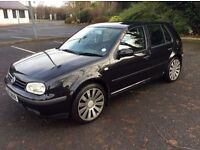 "2002 Volkswagen Golf 1.9 Tdi Mot March 2017 18"" Alloys New Tyres only £1200"