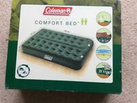 Coleman's double inflatable mattress