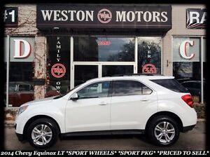 2014 Chevrolet Equinox LT *SPORT PKG* BLUETOOTH* HEATED SEATS