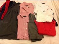 Bundles of school uniforms & shoes/boots