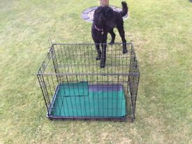 Secondhand dog cage for sale