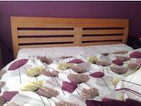 King size bed frame/ John Lewis