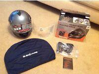 Motor bike helmet used a handful of times