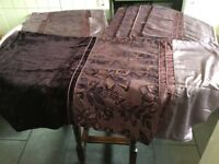 King size Duvet cover and 4 pillowcases. Plus 2 bolster cushion covers. Next. Grape in colour.