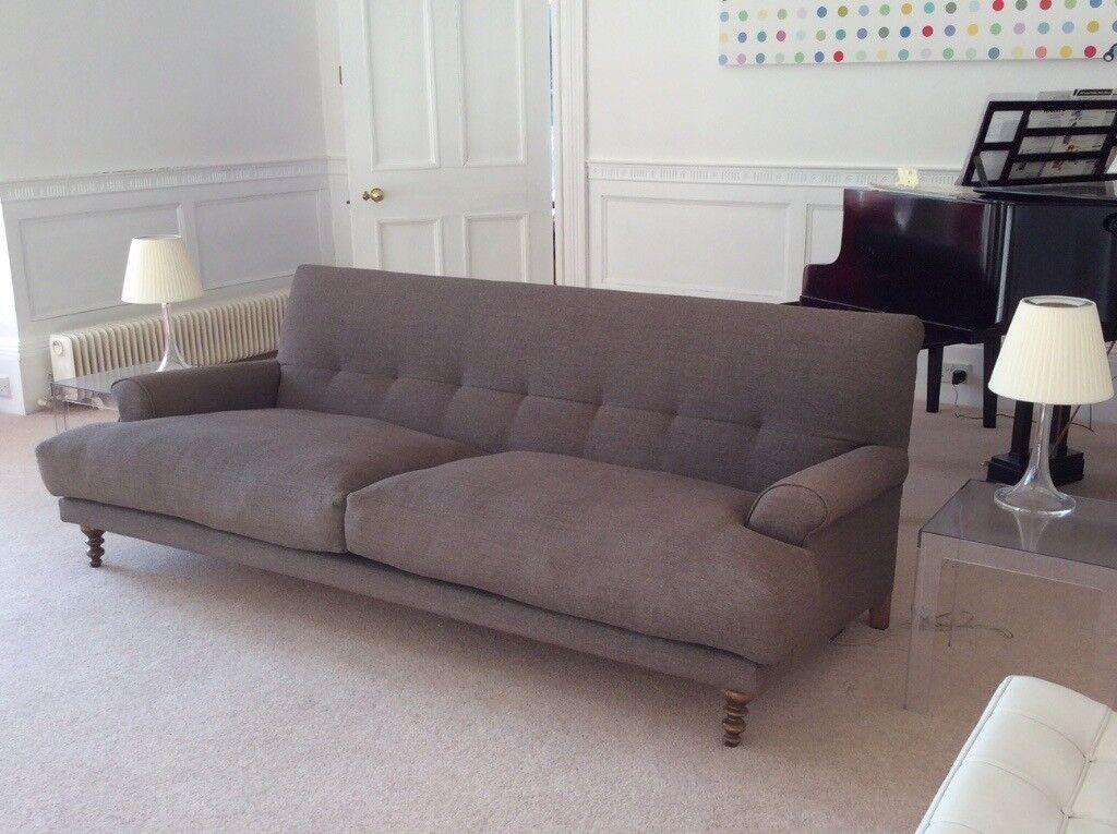 Designer Matthew Hilton Oscar 3 Seater Sofa In Molly Grey