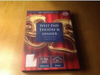 West End Theatre & Dinner