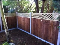 EXPERIENCED PERSON REQUIRED TO MANUFACTURE AND ERECT FENCING, SHEDS, GATE, GARDEN LANDSCAPING