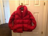 Burgandy Padded Jacket {Next}