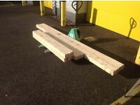 Good as new reclaimed timber .