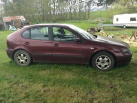 Seat Leon Spares or Repairs £100 No Offers Selling as non runner