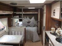 18 months old hobby 645 vip caravan immaculate condition not Fendt tabbert lmc