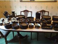 96 piece denby set