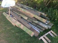 Assorted (used) timber/wood