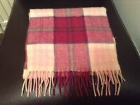 100% Lambswool Scarf - Ladies - Gorgeous Colours