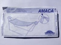 Hammock - Free standing - Easily assembled metal frame.