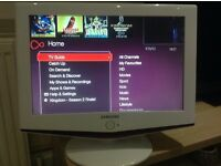 Samsung 19 inch widescreen lcd tv