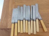 Kitchen butter knives