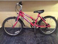 "Kids girl bike Raleigh 20"" kobo bicycle"