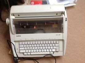 Brother AX 100 electronic typewriter
