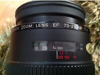Canon EF Zoom lens 70-210mm 1:4