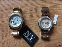 New York London watches x2 still with tags on.......!!!!