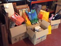 Large amount of items suitable for boot sale.