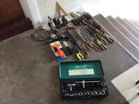 Lot of mixed tools