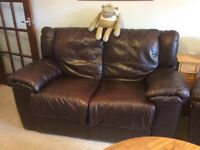 Sofa and two recliner chairs