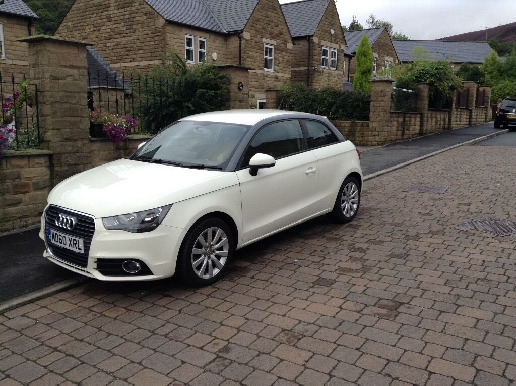 2011 audi a1 sport tfsi 3dr 122 ps full audi service history amalfi white good condition. Black Bedroom Furniture Sets. Home Design Ideas