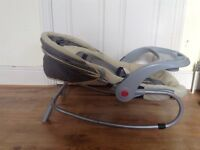 Baby Rocking and Feeding and Sleeping chair with hood (very good clean condition)