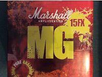 Marshall MG15 fx guitar amp
