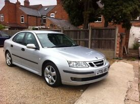 Saab 9-3 1.9 TiD Vector Sport 4dr, FULL LEATHER SEATS, 12 MONTHS MOT, AUTOMATIC, TREAT TO DRIVE